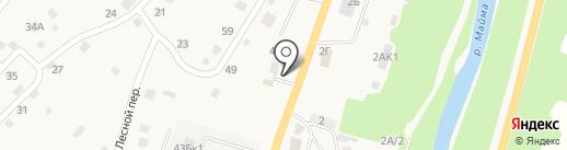 Многопрофильная компания на карте Маймы