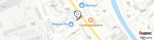 Дукан на карте Горно-Алтайска