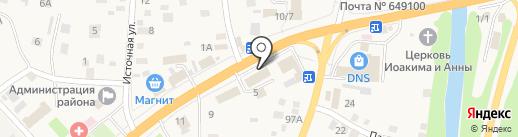 Магазин замочно-скобяных изделий на карте Маймы