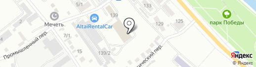 ЛЮКСОРИ ГРАНД на карте Горно-Алтайска