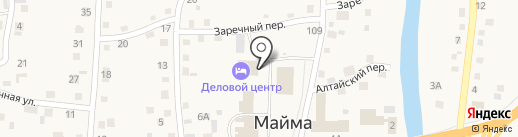 Сайлюгемский на карте Маймы