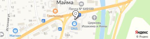 Табачная лавка на карте Маймы
