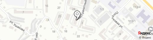 КатуньГЭСстрой на карте Горно-Алтайска