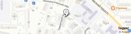 Дормостстрой на карте Горно-Алтайска