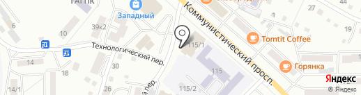 Главное Управление МЧС России по Республике Алтай на карте Горно-Алтайска
