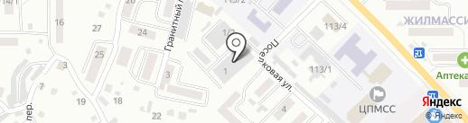 НовоЛит на карте Горно-Алтайска