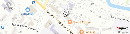 Акцент-Авто на карте Горно-Алтайска