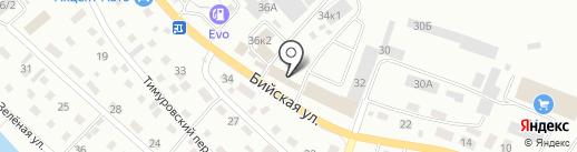 РУЛЕВОЙ на карте Горно-Алтайска