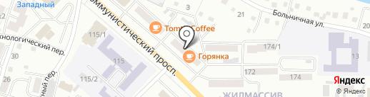 Ремонтная мастерская на карте Горно-Алтайска