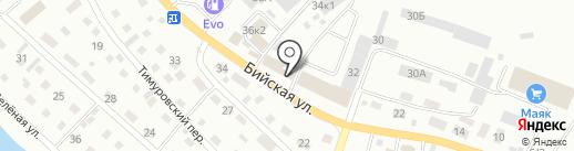 Магазин сельхоззапчастей на карте Горно-Алтайска