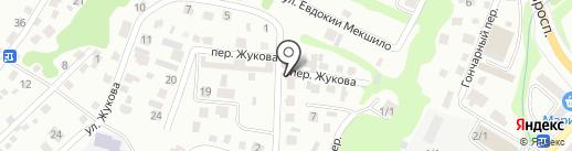Викс на карте Горно-Алтайска