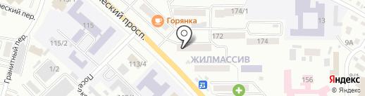 Офис врача общей практики на карте Горно-Алтайска