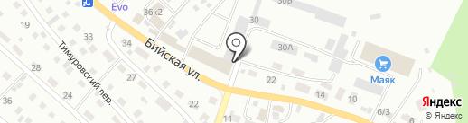 Магазин автозапчастей на карте Горно-Алтайска