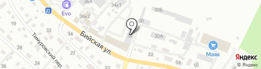 Норинга на карте Горно-Алтайска