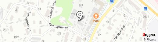 Теплый дом на карте Горно-Алтайска