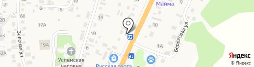 Магазин строительных и отделочных материалов на карте Маймы
