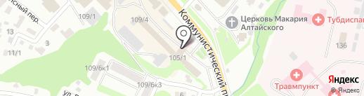 Магазин штор на карте Горно-Алтайска