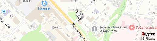 Транспортно-строительная компания на карте Горно-Алтайска