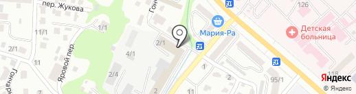 Массажный кабинет на карте Горно-Алтайска