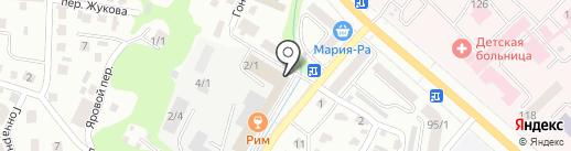 Строительный магазин на карте Горно-Алтайска