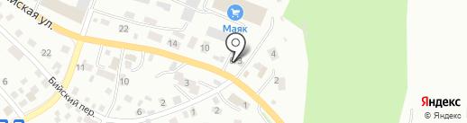 Зум Авто на карте Горно-Алтайска
