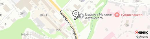 Иконная лавка на карте Горно-Алтайска