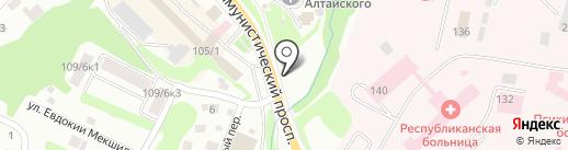 ОПТИКА КАЯС на карте Горно-Алтайска