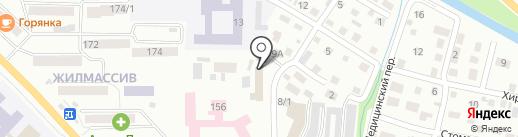 АвтоСпа на карте Горно-Алтайска