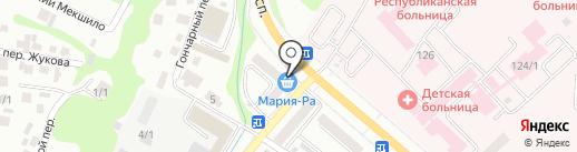 Виланна на карте Горно-Алтайска