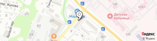 Продуктовый магазин на карте Горно-Алтайска