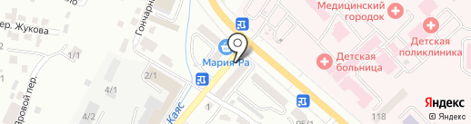Сеть платежных терминалов на карте Горно-Алтайска