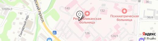 Комфорт на карте Горно-Алтайска