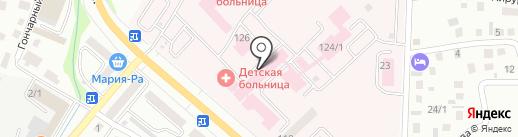 Поликлиника на карте Горно-Алтайска