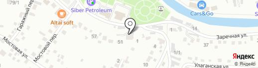 Автовид-подшипники на карте Горно-Алтайска