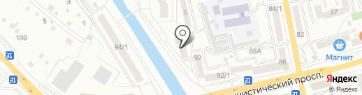 Алтайская 3 на карте Горно-Алтайска
