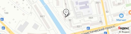Алтайская 3, ТСЖ на карте Горно-Алтайска