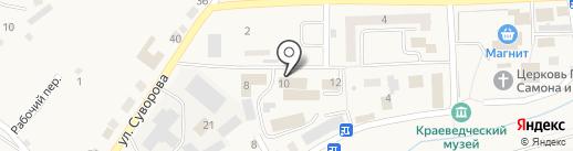 УВД г. Гурьевска на карте Гурьевска