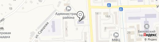 Детская школа искусств №22 на карте Гурьевска
