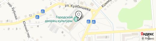 Анонимные наркоманы на карте Гурьевска