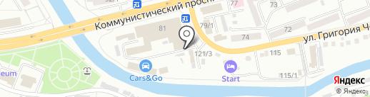 Офис-Информ на карте Горно-Алтайска