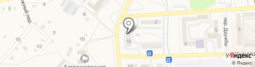 КиТ на карте Гурьевска
