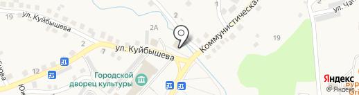 Фортуна на карте Гурьевска