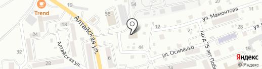 Магазин автозапчастей для ГАЗ на карте Горно-Алтайска