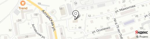 Юридическая компания на карте Горно-Алтайска