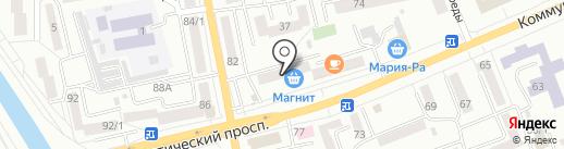 Банкомат, КБ АйМаниБанк на карте Горно-Алтайска
