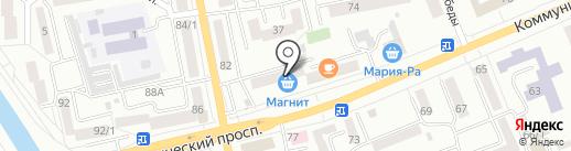 Шпилька на карте Горно-Алтайска