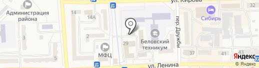 Город упаковки на карте Гурьевска