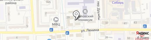 Электробум на карте Гурьевска