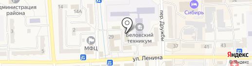 Золушка на карте Гурьевска