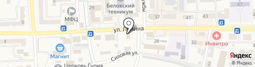 ДНС на карте Гурьевска
